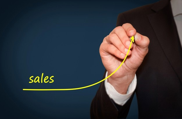 Rise in sales