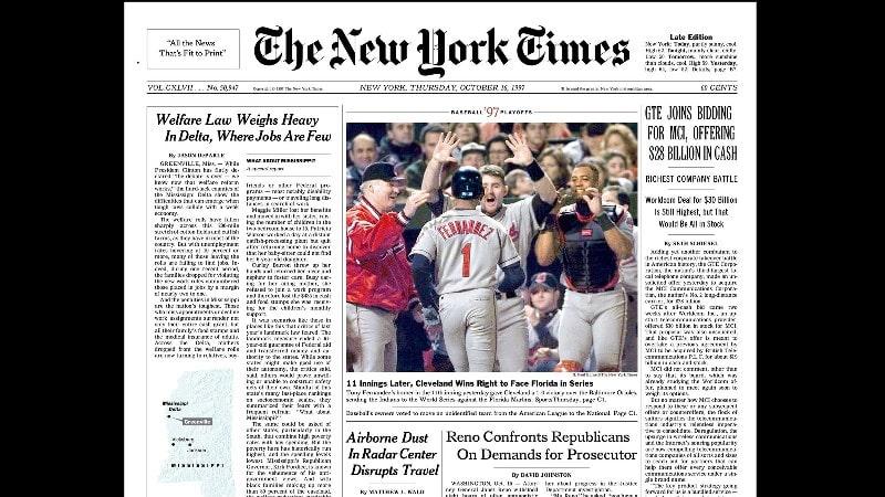The New York Times - News Websites