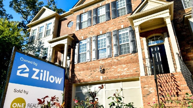 consumer internet company is Zillow