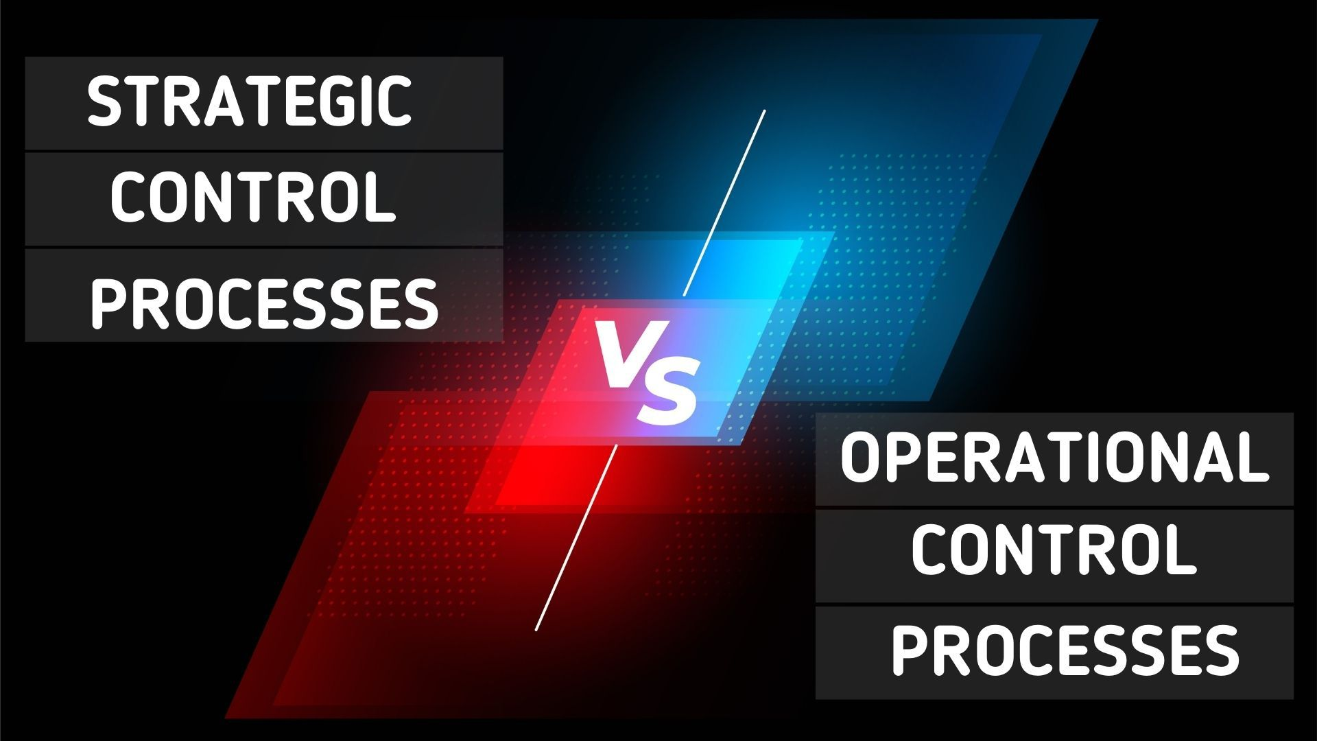 strategic and operational control processes