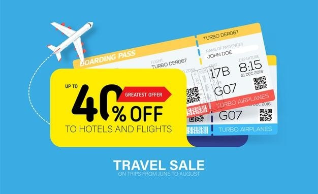 Airlines price promotions