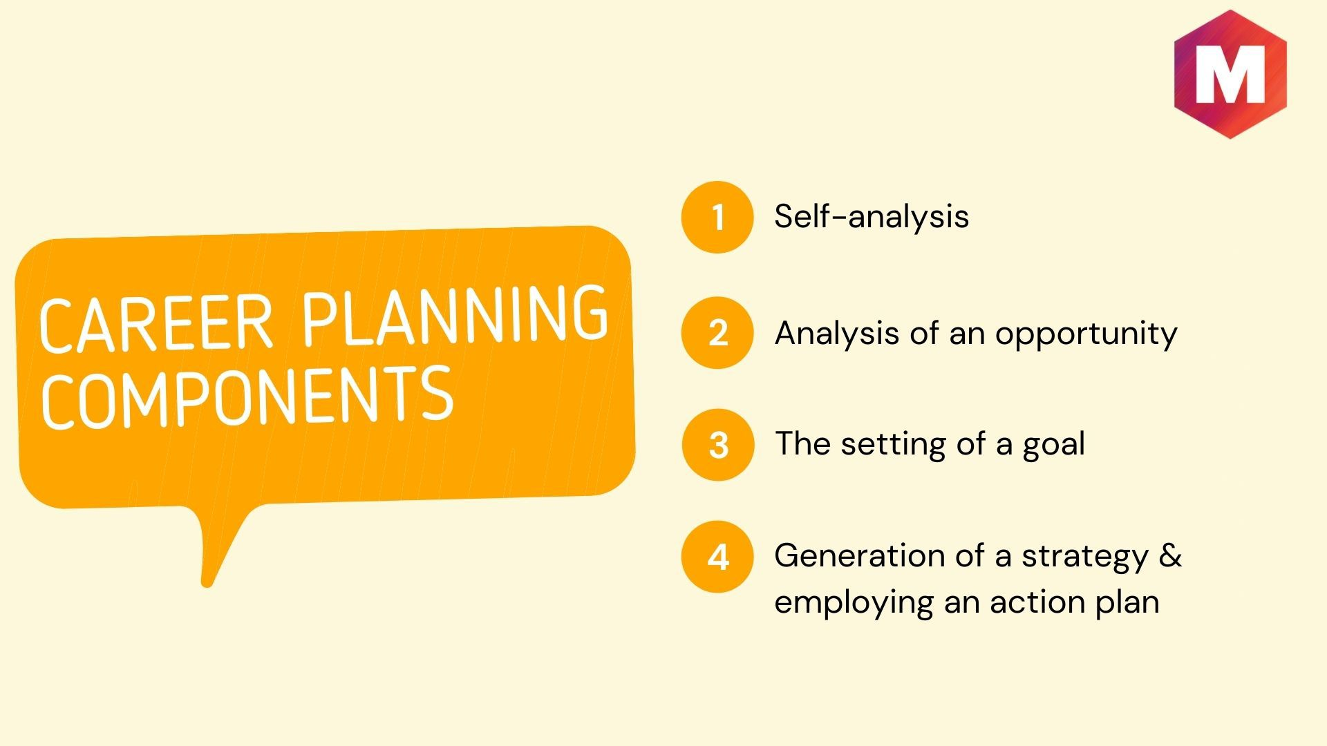 Components of Career Planning & Development