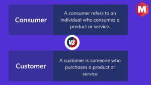 Consumer Vs Customer