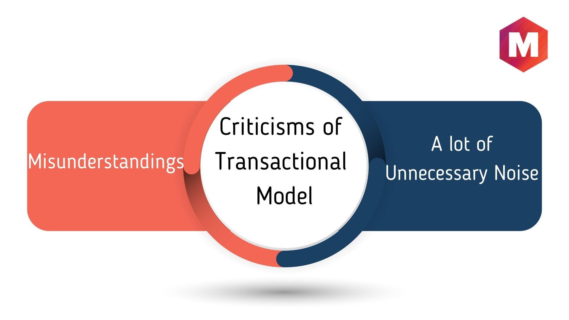 Criticisms of Transactional Model