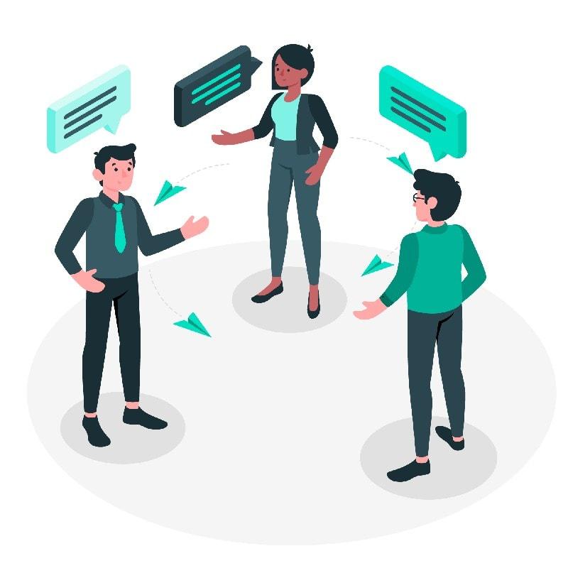 Working of a Communication Process