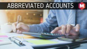 Abbreviated Accounts
