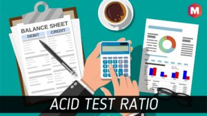 Acid Test Ratio