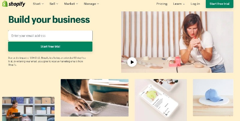 Examples Of Above The Fold Content   Shopify