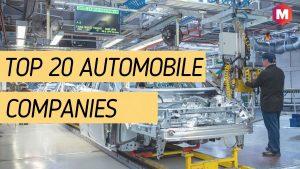 Top 20 Automobile companie