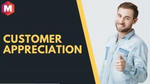 Customer appreciation