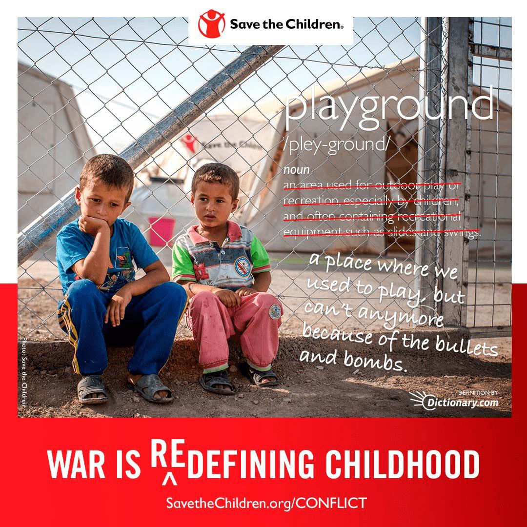Save the Children Social Advertising